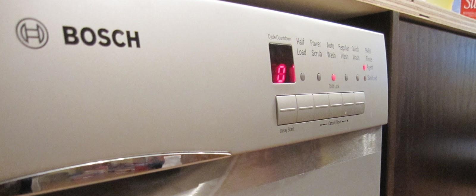 Bosch Dishwasher Installation